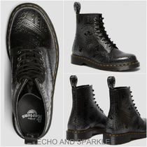 【Dr.Martens】1460 ARCADIA EMBOSSED ANKLE BOOTS 英国発