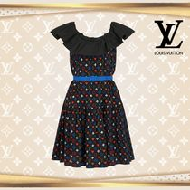 LOUIS VUTTON▼直営店▼Game On Ruffle Scoop Neck Baby Doll