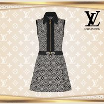 LOUIS VUTTON▼直営店▼Since 1854 Fit-And-Flare Mini Dress
