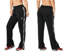 新作♪Zumba X Hello Kitty Tear-Away Track Pants - Bold Black