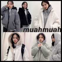 ★muahmuah★RIVERSIBLE FLEECE HOOD JUMPER【追跡有/関税込】