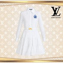 LOUIS VUTTON▼直営店▼Game On Tiered Skirt Shirt Dress