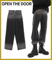 【OPEN THE DOOR】人気★ gradation washing jean★
