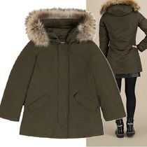WOOLRICH(ウールリッチ) キッズアウター WOOLRICH★20-21AW ARCTIC PARKA ジャケット ダークグリーン