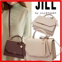 韓国の人気☆【JILLSTUART】☆gold decorated satchel tote ba.g