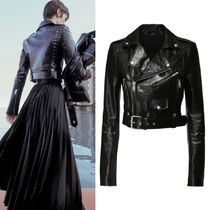 G694 LOOK8 LEATHER BIKER JACKET