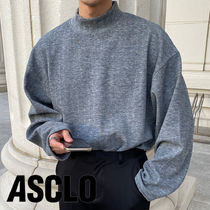 ASCLO High Neck Long Sleeve T Shirt (3color)
