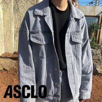 Off ASCLOfit Wide Denim Jacket (Gray)