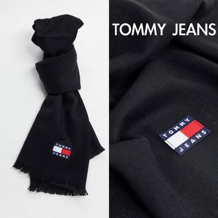 *Tommy Jeans*ロゴ スカーフ /ブラック