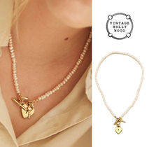 VINTAGE HOLLYWOOD正規品★Open Your Heart Pearl Necklace