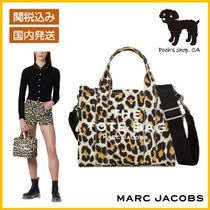 【MARC JACOBS】THE LEOPARD MINI TRAVELER TOTEBAG◆国内発送◆