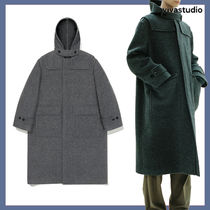 [VIVASTUDIO] CASHMERE HOODED DUFFLE COAT JA★韓国の人気