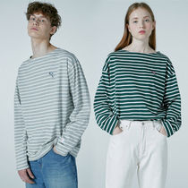 ★WAIKEI★新作★送料込み★韓国 Stripe long sleeve T-shirts