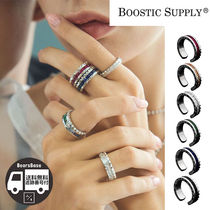 BOOSTIC SUPPLY 18K WHITE GOLD PLATING RING BBH914 追跡付