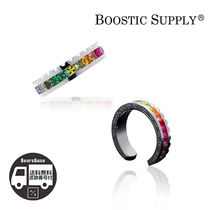 BOOSTIC SUPPLY 18K WHITE GOLD PLATING RING BBH915 追跡付