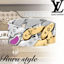 【Louis Vuitton】チェーン リンク パッチ リング / モノグラム