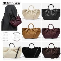 DEMELLIER LOS ANGELES ハンドバッグ スムース 7色 関税込み