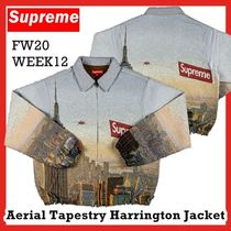Supreme Aerial Tapestry Harrington Jacket FW 20 WEEK 12