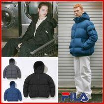 ◆FILA◆UNISEX ARCHIVE QUILTED HOOD GOOSE DOWN◆正規品◆