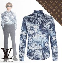 21SS【ルイヴィトン】CHEMISE MANCHES LONGUES TAPESTRY EN SOIE