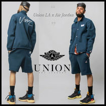 ★ NIKE ★コラボ★ JORDAN X UNION LA NAVY COACHES JACKET★