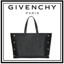 【GIVENCHY】エンボスレザー ミディアム ボンドショッパー