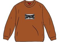20 FW Supreme Woven Label L/S Top WEEK11