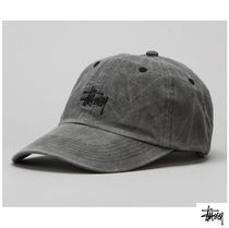 WANNA ONE着用★STUSSY★Smooth Stock Enzyme Wash Cap