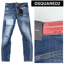 DSQUARED2(ディースクエアード) SEXY TWIST JEANS ペイント