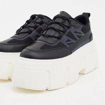ASOS DESIGN Dapper chunky reflective trainers