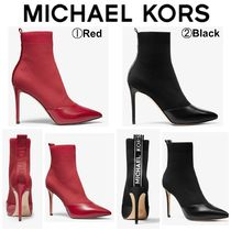 【Michael Kors】●セール●ロゴテープ●Vicky Knit Ankle Boot