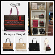 HOLIDAY限定 COACH★Dempsey Carryall 2way利用