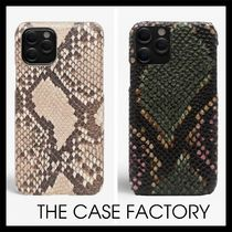 【THE CASE FACTORY】IPHONE 12 PRO ケース パイソン 2パターン