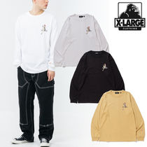 【XLARGE 】L/S TEE GIRL WITH COCKTAIL