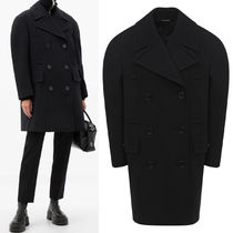 G699 DOUBLE BREASTED WOOL PEA COAT
