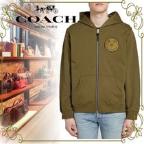 【COACH VIPSALE品!!】YETI OUT EMBROIDERED ZIP HOODY