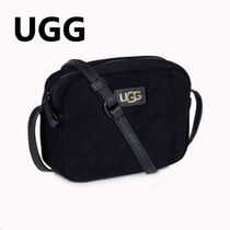 【UGG】日本未入荷!MINI CROSSBODY SUEDE BAG