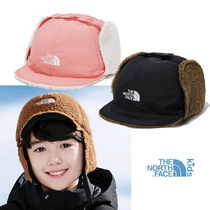★THE NORTH FACE★ NE3CL54 REVERSIBLE EARMUFF CAP キッズ