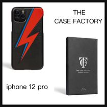 【THE CASE FACTORY】IPHONE12PRO ケース BOWIE LIGHTNING BLACK