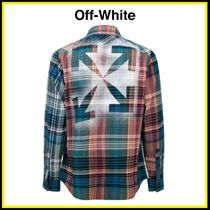 Off-White ★チェックシャツ【国内発・関税込み】