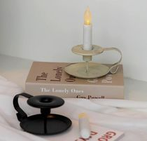 【trendeco】Vintage Iron Handle Candle Holder Interior
