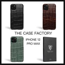 【THE CASE FACTORY】IPHONE12 PRO MAX クロコダイル ケース 3色