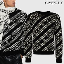 GIVENCHY ジャカード チェーン セーター