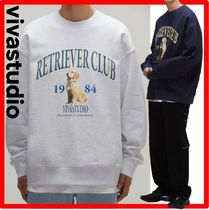 ★韓国の人気★【VIVASTUDIO】★RETRIEVER CREWNECK J.A★関税込