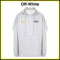 Off-White ★ ダブルスリーブ フーディー【国内発・関税込み】