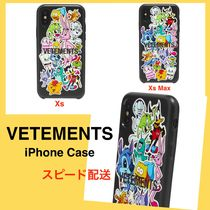 ヴェトモン【VETEMENTS】MONSTER STICKER iPhone ケース
