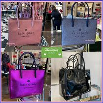 【kate spade】数量限定★ロゴ入り♪2wayバッグ♪ shopper ★