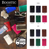 BOOSTIC SUPPLY CIGARETTE CASE ITALY LEATHER BBH921 追跡付