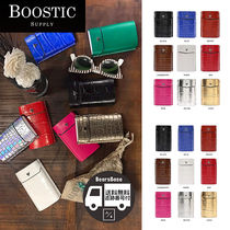 BOOSTIC SUPPLY CIGARETTE CASE ITALY LEATHER BBH922 追跡付