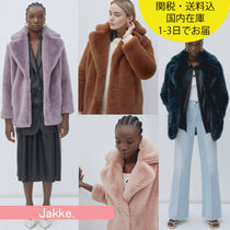 国内在庫・即納可能 Jakke Heather Faux Fur Jacket Wear & Care